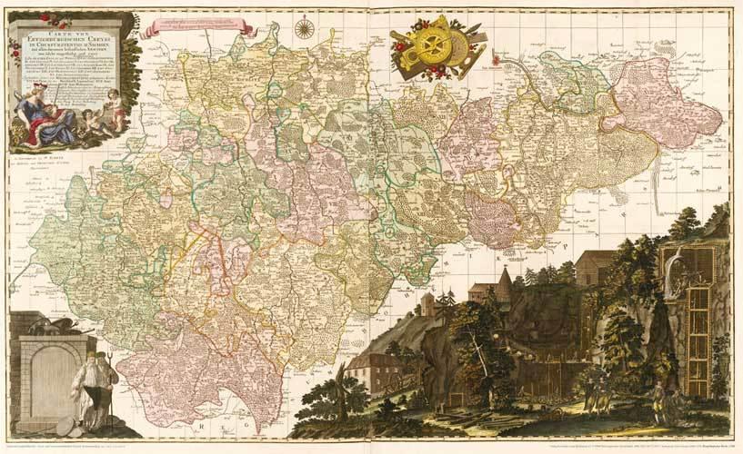 Bergbau Erzgebirge Karte.Hist Karte Erzgebirge Erzgebirgischer Kreis 1760 Plano