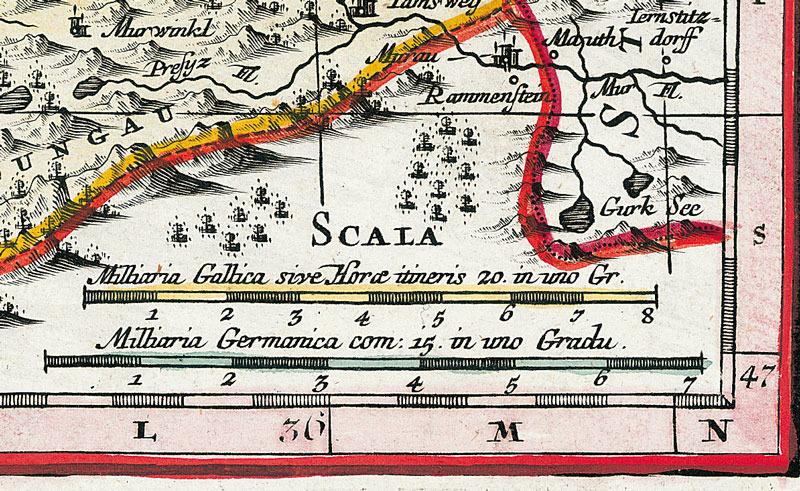 historische karte bayern 1741 plano von seutter. Black Bedroom Furniture Sets. Home Design Ideas